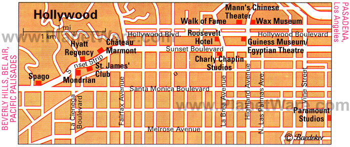 StoryMapJS Hollywood Boulevard