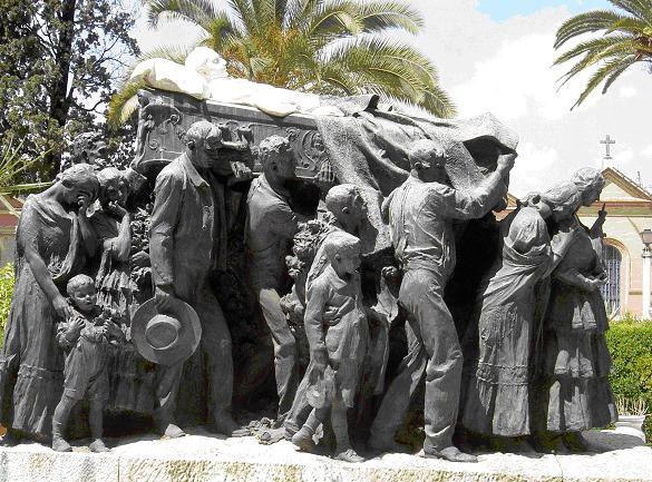 Resultado de imagen de sepultura de Juan Belmonte