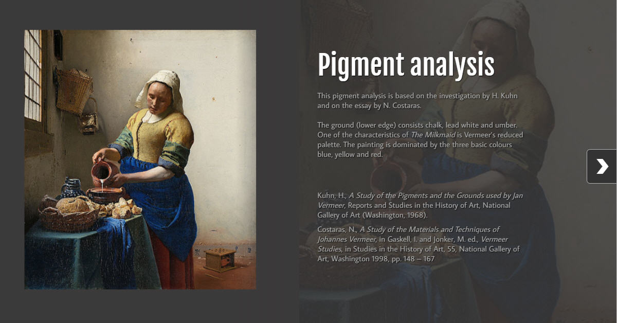 pigment and vermeer Pigments et colorants peinture find this pin and more on art tools, supplies & studio by minazjantz vermeer's palette and his use of azurite and other pigments.