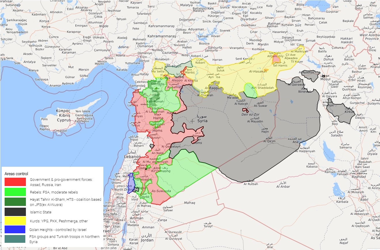 Guerra De Siria Mapa.12 Claves Para Entender Que Pasa En Siria Internacional