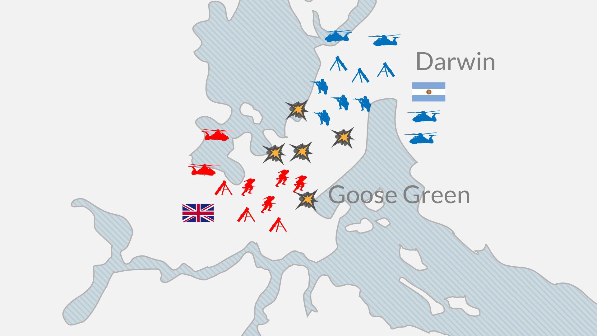 Malvinas Las Batallas Terrestres Infobae