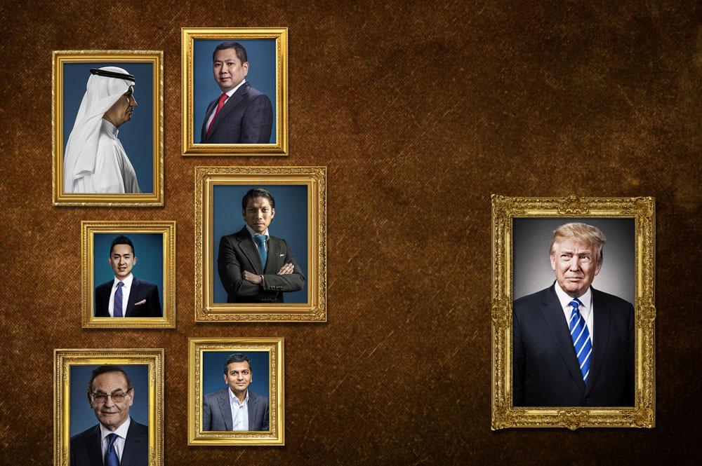 Trump\'s Global Web Of Partners
