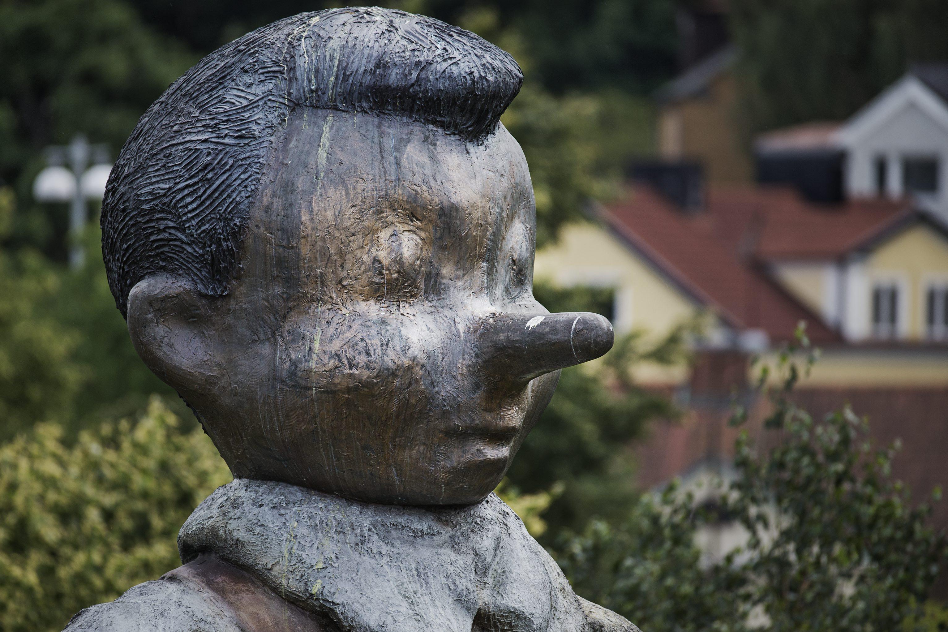 Karta Skulpturer Boras.Darfor Star Pinocchio I Boras Se Var Kartlaggning Boras Tidning