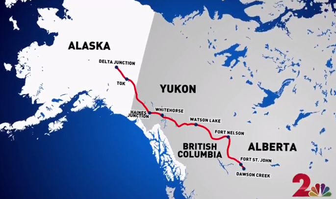 Storymapjs Map Roadtrippin The Alcan At 75