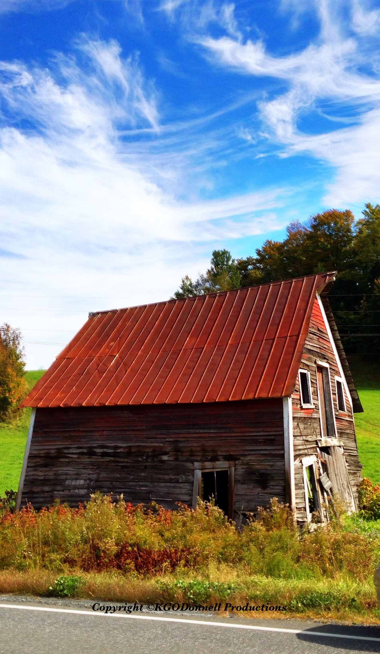 A Tribute To Vermont S Old Falling Down Barns Vermont